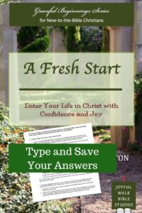 A Fresh Start Fillable Study Guide-Type and save your answers