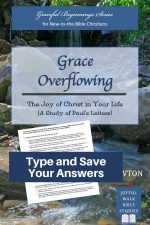 Overview of Paul's Letters Bible Study in Fillable Form-Type and save your answers