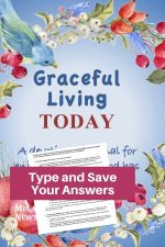 Graceful Living Today Devotional Journal-Fillable Study Guide