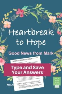 Mark Bible Study in Fillable Form-Type and save your answers