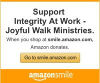 Support Joyful Walk Ministries through Amazon Smile