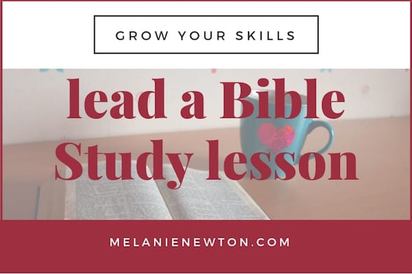 Lead a Bible Study lesson. LeadABibleStudy.com