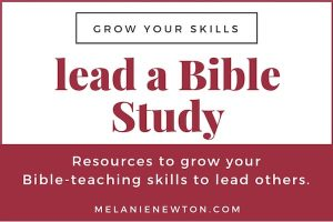 Lead a Bible Study resources. LeadABibleStudy.com