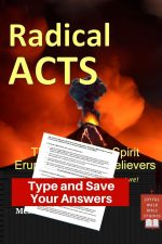 Acts Bible Study in Fillable Form-Type and save your answers