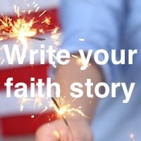 Write your faith story worksheets